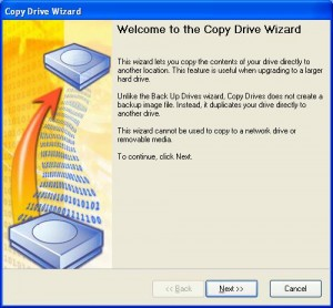 Copy Drive Wizard