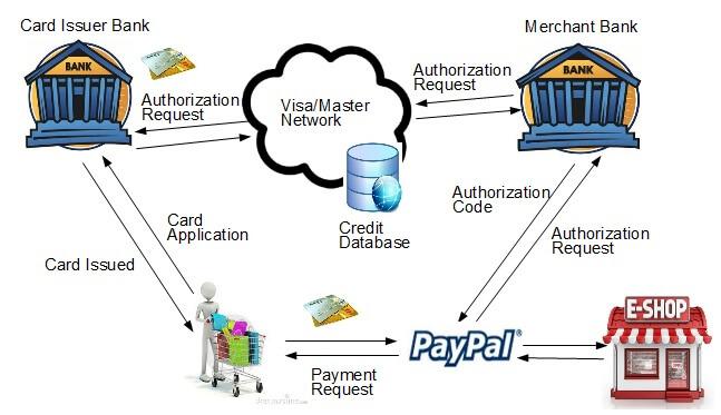 Paypal 信用卡支付