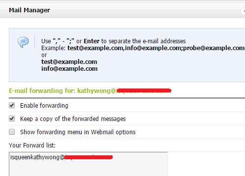 email-forwarding