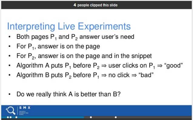 SEO優化方法 content experiment
