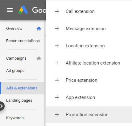 Google 廣告額外資訊