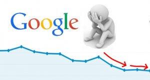 造成 SEO排名下降, 網站訪問人流下降的幾種可能