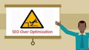 SEO 過度優化,從搜尋引擎看就是垃圾內容或人為操控