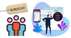 網站設計,建立會員系統訂閱會籍限制訪問內容